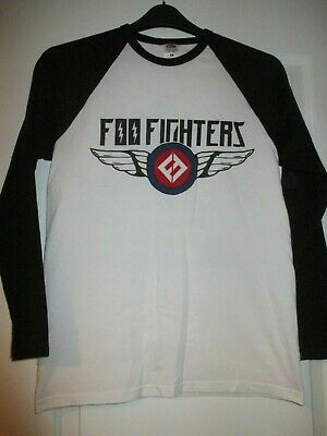 FOO FIGHTERS Official 2018 UK Tour T-Shirt Concrete And Gold Medium Dave Grohl
