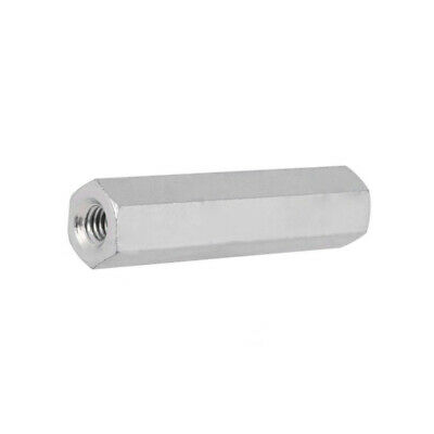 10x TFF-M3X45/DR124 Screwed spacer sleeve Int.thread M3 45mm hexagonal steel