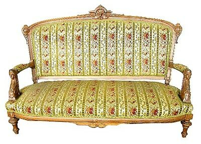 Antique American Victorian Sofa 1800-1899 by John Jelliff #1962