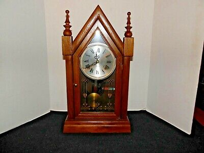 VTG. Alaron Mantle Clock~ Pendulum Clock Model ~ C-26 ~ 31 ~ Day Chimes