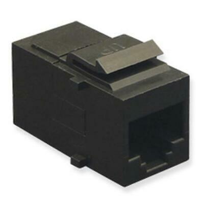 ICC-IC107F5CBK NEW Retail ICC ICC-IC107F5CBK MODULE CAT 5e HD 25 PK BLACK