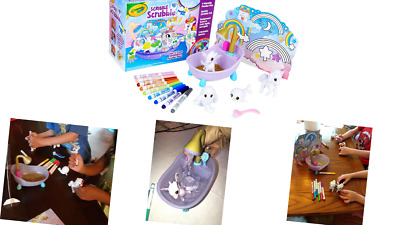 Crayola Scribble Scrubbie Peculiar Pets Gift for Kids, Ages 3, 4, 5, 6 NEW