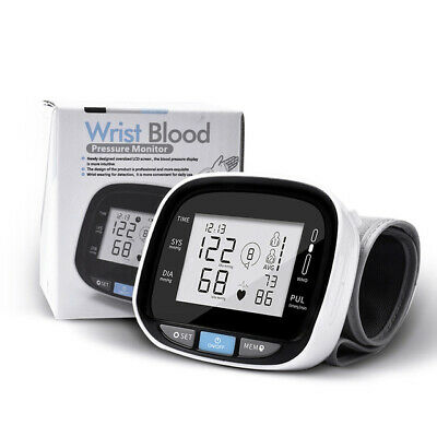 Upper Arm Blood Pressure Monitor Large Cuff Voice Digital Electronic Automatic