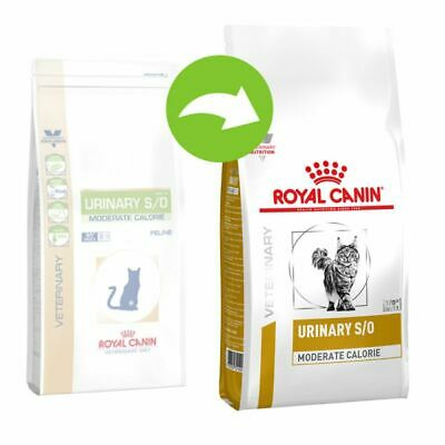 Royal Canin Veterinary Diet Cat Urinary S/O Moderate Calorie 1.5kg 3.5kg 7kg 9kg