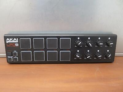 AKAI Professional LPD8 Laptop Pad Controller USB MIDI, as is, read!