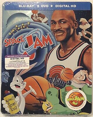 Space Jam 20th Anniversary Steelbook - Limited Edition Blu-Ray