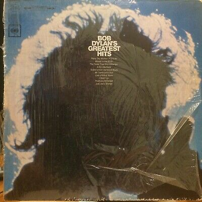 BOB DYLAN Bob Dylan's Greatest Hits LP COLUMBIA KCS 9463 early streo shrkwrp VG+