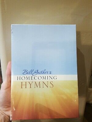 Bill Gaithers Homecoming Hymns + Christmas Hymns new sealed