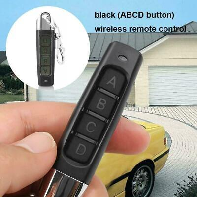 Universal Garage Door Car Gate Cloning Remote Control Key Replacement Fob:433MHZ