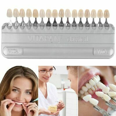 A1-D4 16 Colors Dental Material Equipment Teeth Whitening Porcelain Shade Guide