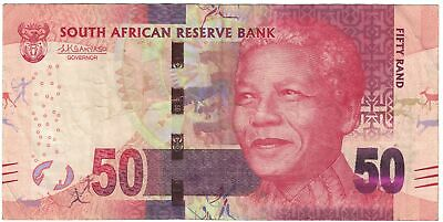 [#605407] Banknote, South Africa, 50 Rand, 2015, Undated (2015), KM:140b