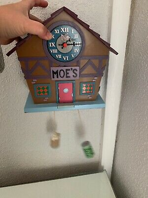 The Simpsons Moe's cuckoo clock spares repair Bar Hommer Unusual *not Working*