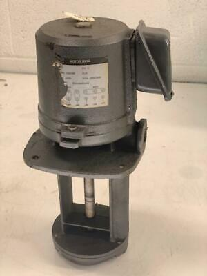 UNKNOWN Submersible Coolant Pump, Mod# N/A, 230/460 V, Used, Warranty