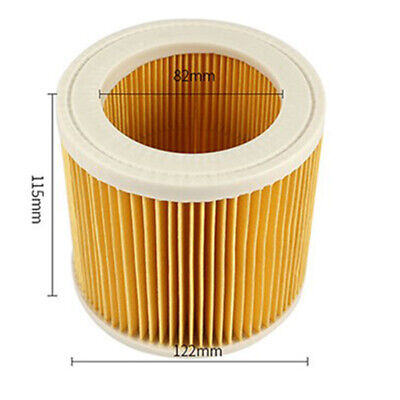 Pack of 2 Cartridge Filter Fit Karcher WD2.200 WD3.500 Wet & Dry Vacuum Cleaners