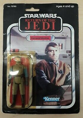 Star Wars ROTJ General Madine Kenner 1983 MOC Factory Sealed cracked bubble top