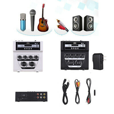 MF8 Mini Portable Audio Mixer with USB DJ Sound Mixing Console for Karaoke