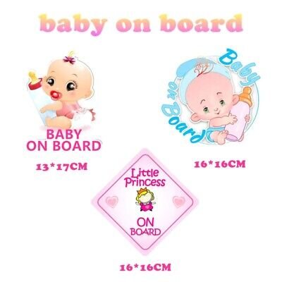 Peter Rabbit Baby On Board Car Window Sign Reflective Stickers Non  Shns