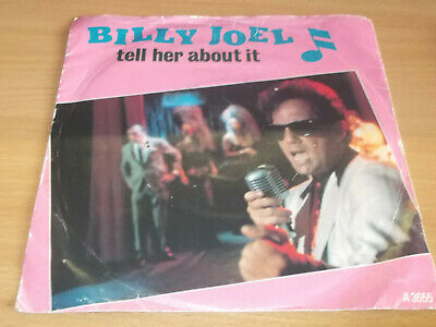 """Billy Joel  Tell her about it  7"""" Hit Record"""