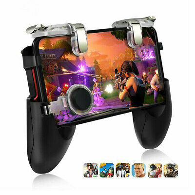 Gaming Joystick Handle Holder Controller Mobile Phone+Shooter For PUBG Fortnite