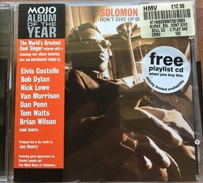 Solomon Burke - Don't Give Up On Me CD COSTELLO BRIAN WILSON DYLAN WAITS VAN