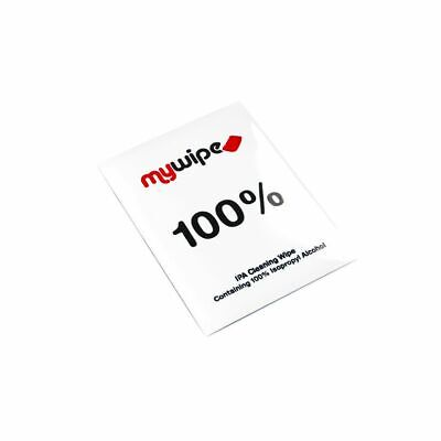 100% Pure Isopropyl Ipa Alcohol Degreasing Wipes Cleaning Large 18X14Cm