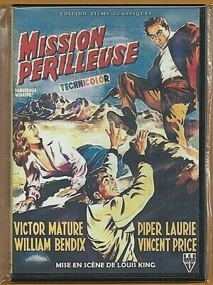 Dvd - Mission Perilleuse (Victor Mature / Piper Laurie) Introuvable !!!