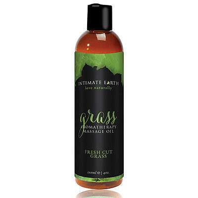 Olio da massaggio alle erbe - Intimate Organics Oil Grass 240 ml Масло массажа