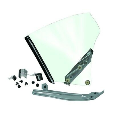 70 - 72 Chevelle Quarter Window Assembly - Clear Glass / Right / Passenger Side