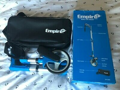 Empire Em150Mw Half Folding Measuring Wheel - 150Mm Wheel - Carry Case Included.