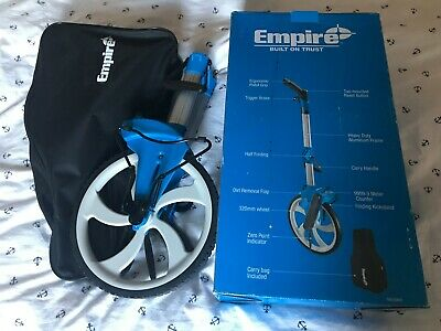 Empire Em320Mw Half Folding Measuring Wheel - 320Mm Wheel - Carry Case Included.