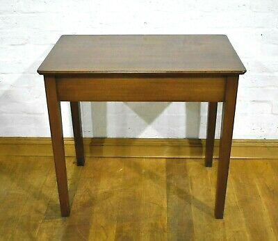 Antique vintage mahogany side occasional table - console