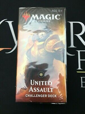 United Assault Challenger Deck - Magic the Gathering Sealed Product