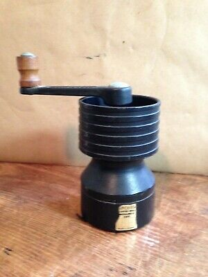Antique SPONG Cast Iron Coffee Mill Moulins A Cafe~Made in England