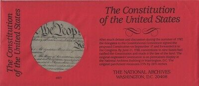 Constitution United States, Constitution USA, National Archives, reproduction