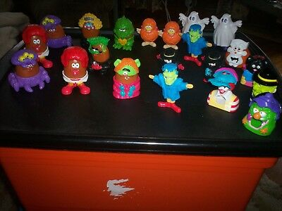 McDonalds Halloween Mcnugget buddies and Candy Dispensers 1996 1998 1995 lot