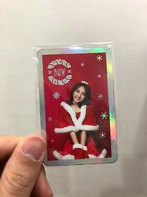 Twice 3rd Mini Album Christmas Edition Twicecoaster Lane1 Nayeon  Photocard