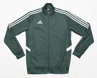 NWT ADIDAS Tiro Men's Climalite Pocket-Zipper Jogging Running Warm Track Jacket
