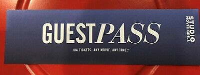 Studio Movie Grill Tickets - Guest Pass