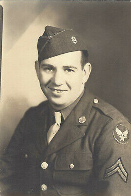 WW2 Photograph - U.S. Army Air Corps Soldier - Chemical Corps - IDd Dated - WWII