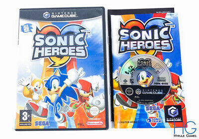 Sonic Heroes - Nintendo Gamecube Game & Case PAL