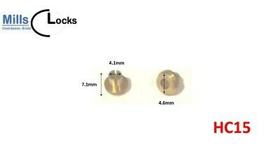 Nylon Clock Pendulum Suspension Spring. (18.5mm x 5mm x 9mm)  (Type N2)