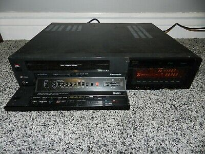 Panasonic Model Ag-1830 S-Vhs Mts Hi Fi Video Cassette Recorder
