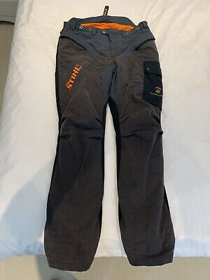 Stihl Hiflex Chainsaw Trousers Class 2 Full Protection Size Xl Very Nice + Box