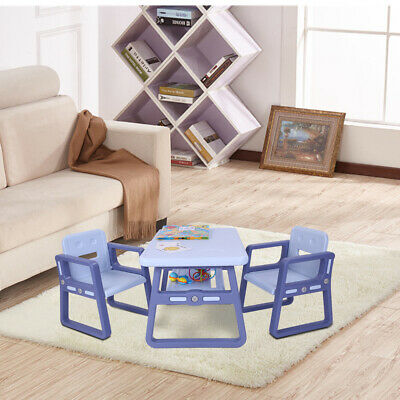 Childrens Kids Table And Chairs Nursery Garden Sets Indoor Staudy Playing Table