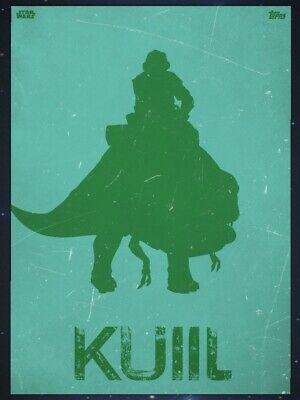 THE MANDALORIAN LAWLESS LANDS TEAL KUIIL Topps STAR WARS DIGITAL CARD Trader