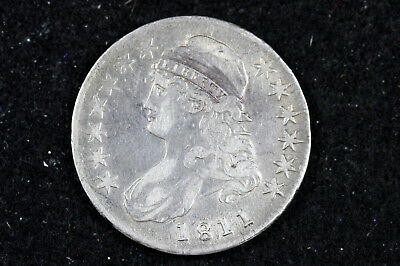 Estate Find 1811  Capped Bust Half Dollar  #D8781