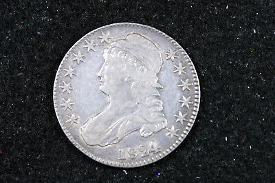 Estate Find 1824 / 1  Capped Bust Half Dollar  #D12146