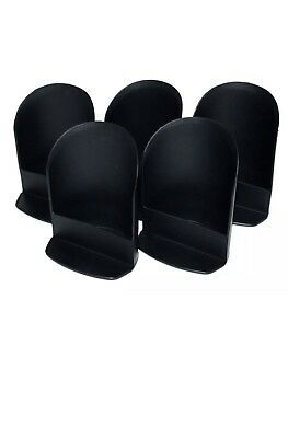 Tupperware NEW 5-Round FLOUR, Sugar Canister ROCKER SCOOP SCOOPS Cosmos Black
