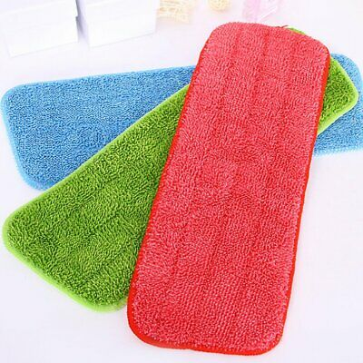 NEW Microfibre Mop Refill Replacement Heads Dust Floor Cleaning Washable Pads CU