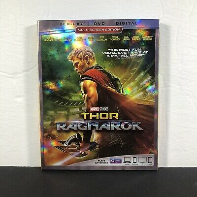 Thor: Ragnarok (Blu-ray/DVD* 2-Disc Set) With Slip Cover (No Digital)